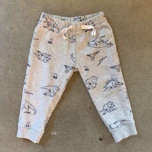 Carter's Dinosaur print sweat pants